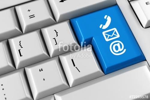 Symbol fr Kommunikation und Kundenservice