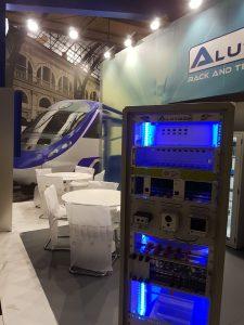 Stand Alutron Expo Ferroviaria 2017