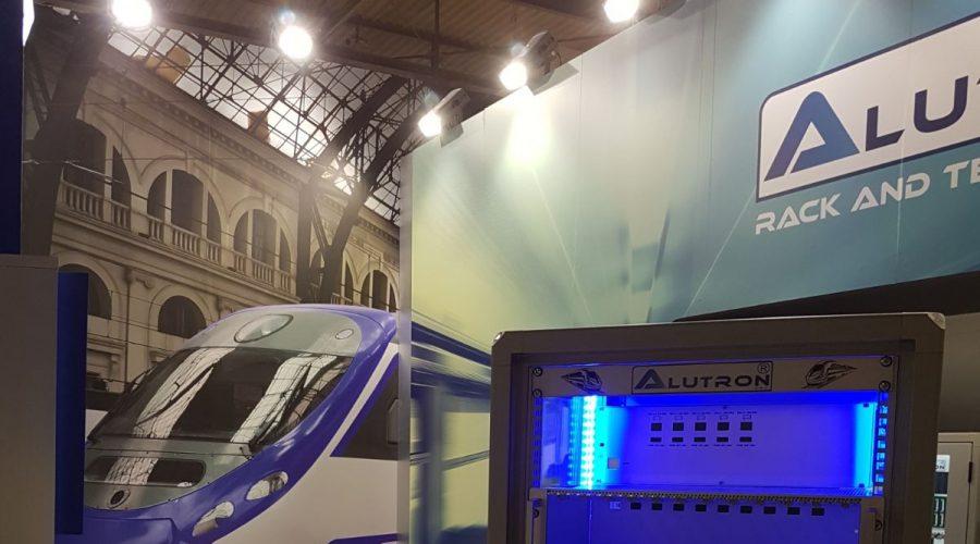 Stand Alutron ad Expo Ferroviaria Milano 2017