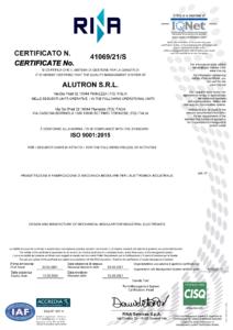 CERTIFICATO ALUTRON (002)